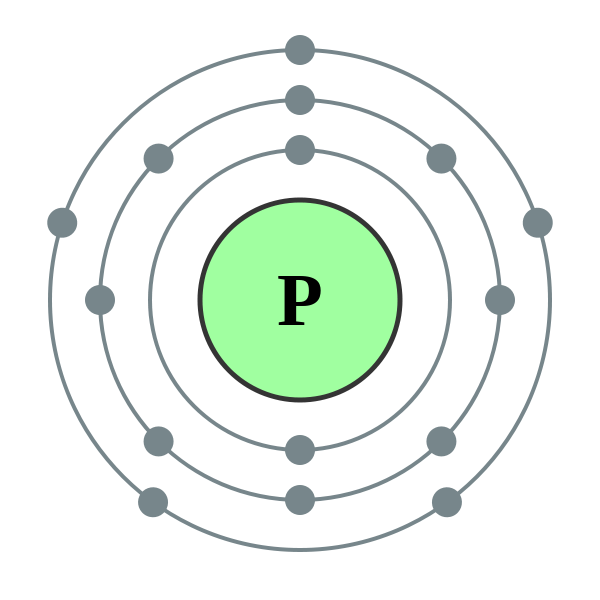 How Many Valence Electrons Are In An Atom Of Phosphorus